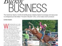 """""""Buckin' Business"""" Featured in COSE Update"""