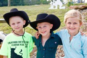 Mutton busters: Luke, Ryan, & Brooke