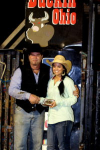 Darlene Miller is the barrel racing winner both for the September Event and for the series! Congratulations, Darlene!